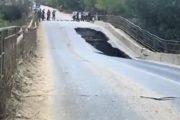 В Буйнакском районе рухнул мост