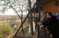 Сергей Меликов посетил памятник природы регионального значения «Алмакский каньон»