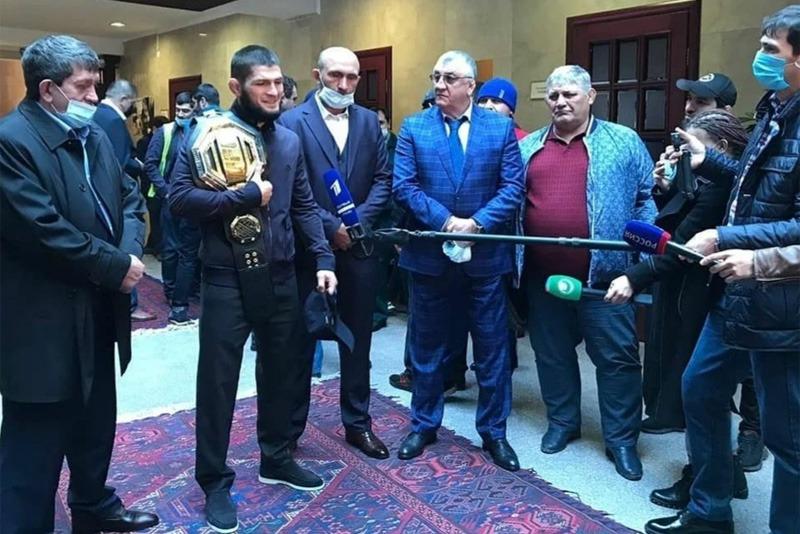 Хабиб Нурмагомедов подтвердил решение покинуть октагон