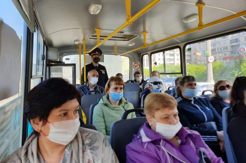 В Дагестане ужесточен масочный режим в общественном транспорте