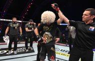 Хабиб Нурмагомедов выиграл очередной титульный бой. По его словам, последний