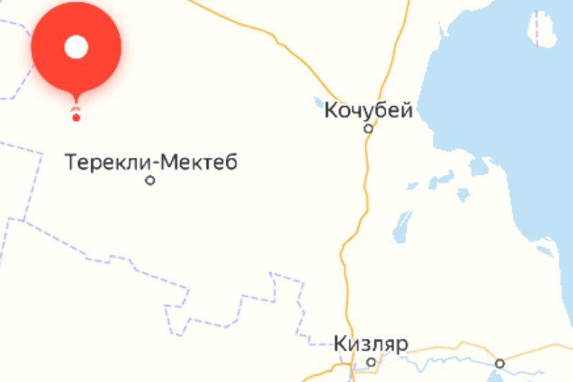 На севере Дагестана загорелась нефтяная скважина
