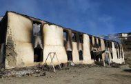 В Тляратинском районе Дагестана сгорела старая школа