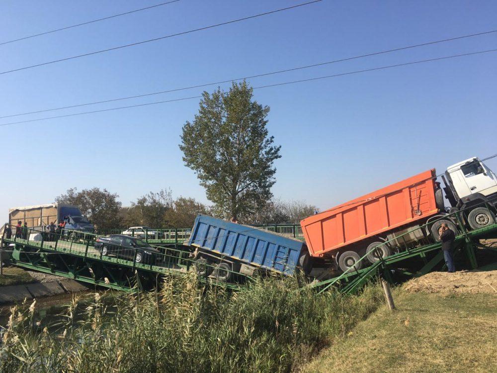 Водитель МАЗа, под колесами которого рухнул мост, стал фигурантом уголовного дела