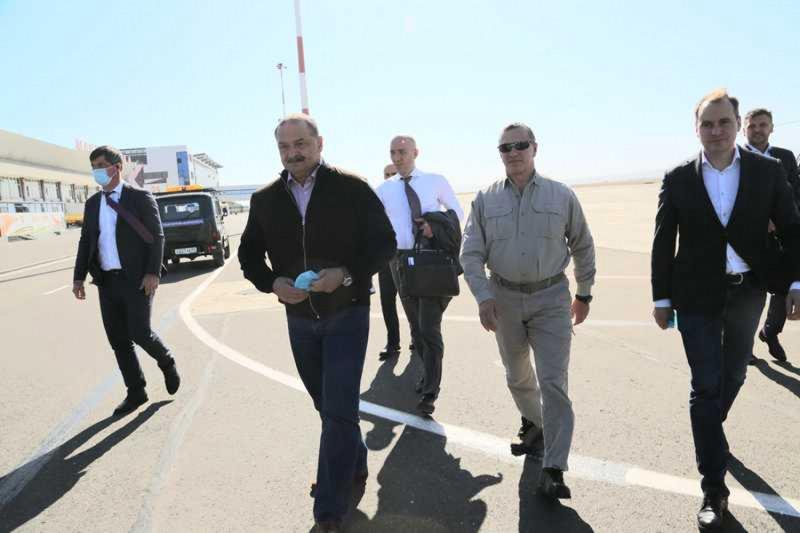 В Дагестан прибыл вице-премьер правительства России Юрий Трутнев