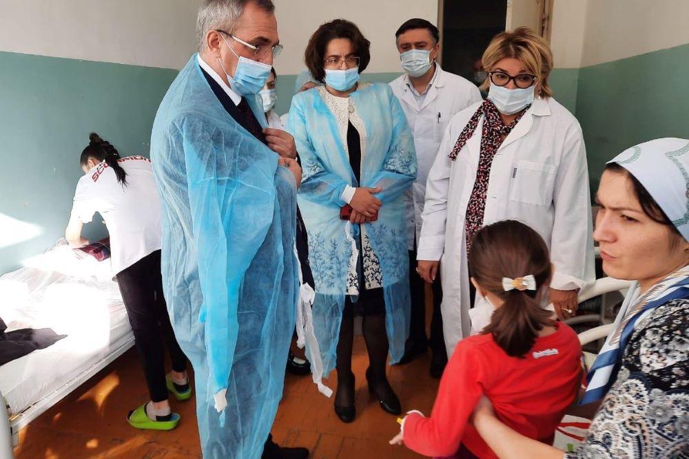В Махачкале с признаками ОКИ госпитализированы 42 ребенка. Возбуждено уголовное дело