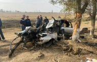 В Хасавюртовском районе водитель скончался за рулем, в результате ДТП погибла пассажирка