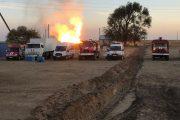 Оперштаб МЧС решил оставить в горящем состоянии скважину на севере Дагестана