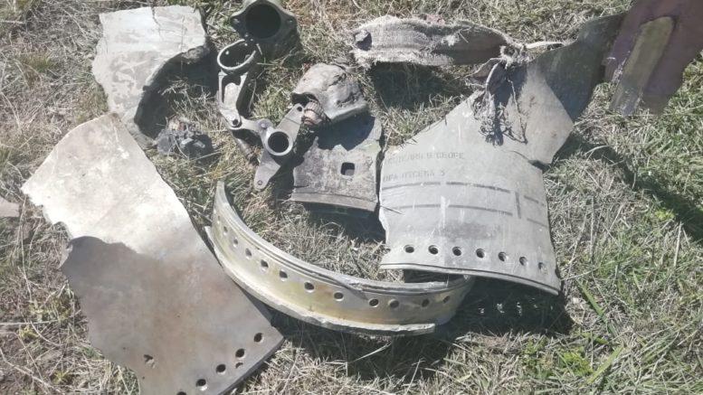 В Агульском районе пастух нашел обломки, похожие на осколки снаряда