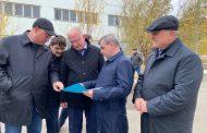 Абдулпатах Амирханов ознакомился с комплексом Тарнаирских водопроводных очистных сооружений