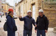 В Дербенте ведутся реставрационные работы разрушенной крепостной стены