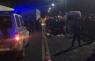 В Дербентском районе погибли водитель и пассажир «Лады», столкнувшейся с микроавтобусом