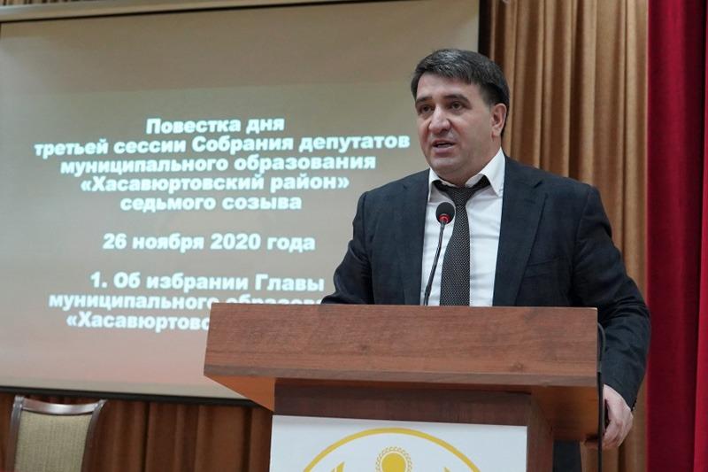 Джамбулат Салавов переизбран главой Хасавюртовского района
