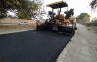 В Магарамкентском районе завершается строительство  автодороги республиканского значения