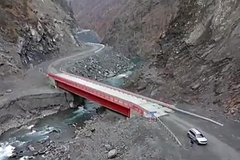 После реконструкции открыт участок автодороги Агвали - Кидеро