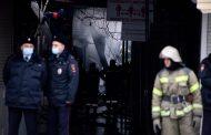 Пожар на рынке «Дагэлектромаш». Фоторепортаж
