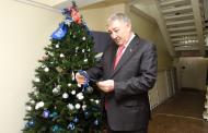 Сайгидахмед Ахмедов принял участие в акции «Елка желаний»