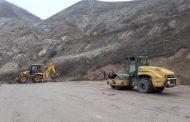 В селении Чанкурбе Буйнакского района идет строительство футбольного поля