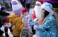 Акция «Здравствуй, добрый Новый год» прошла в Кайтагском районе