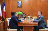 Сергей Меликов провел встречу с помощником вице-премьера РФ Андреем Бородиным