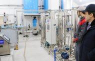 Цех по производству минеральной воды и газированных напитков открылся в Кайтагском районе
