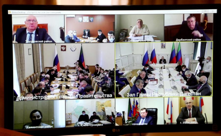 Сергей Меликов поручил создать в Дагестане резервный фонд жилья
