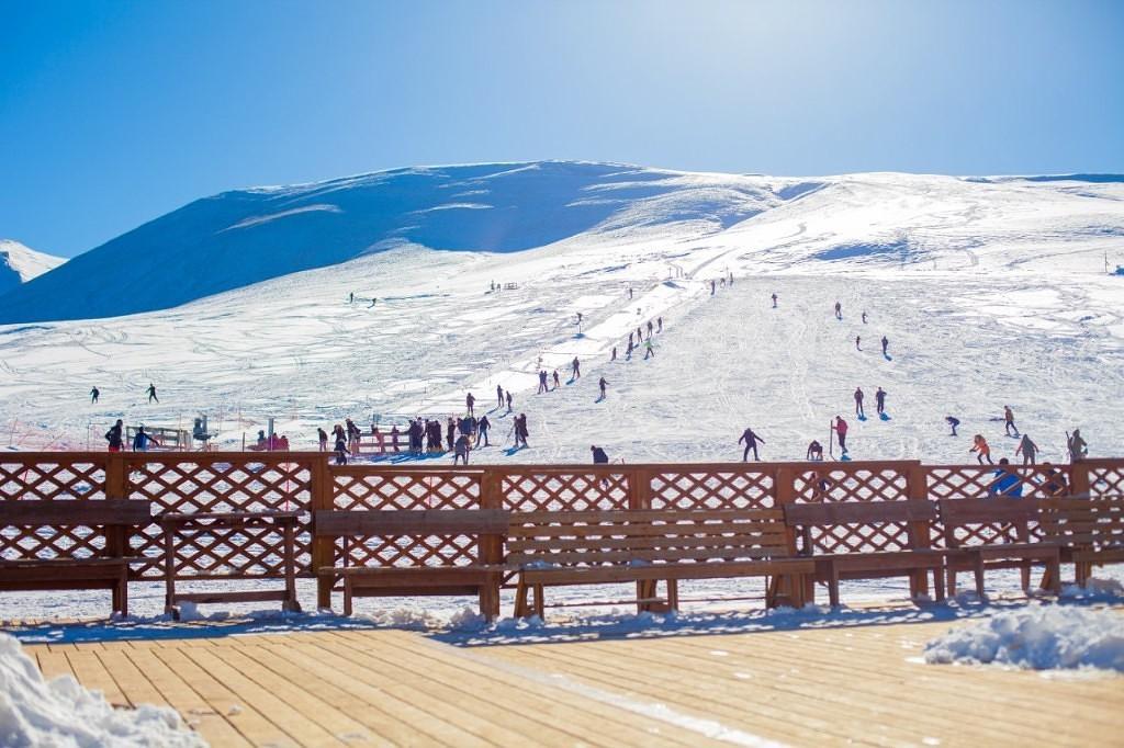 С декабря горнолыжную базу «Чиндирчеро» посетили 18 тысяч туристов