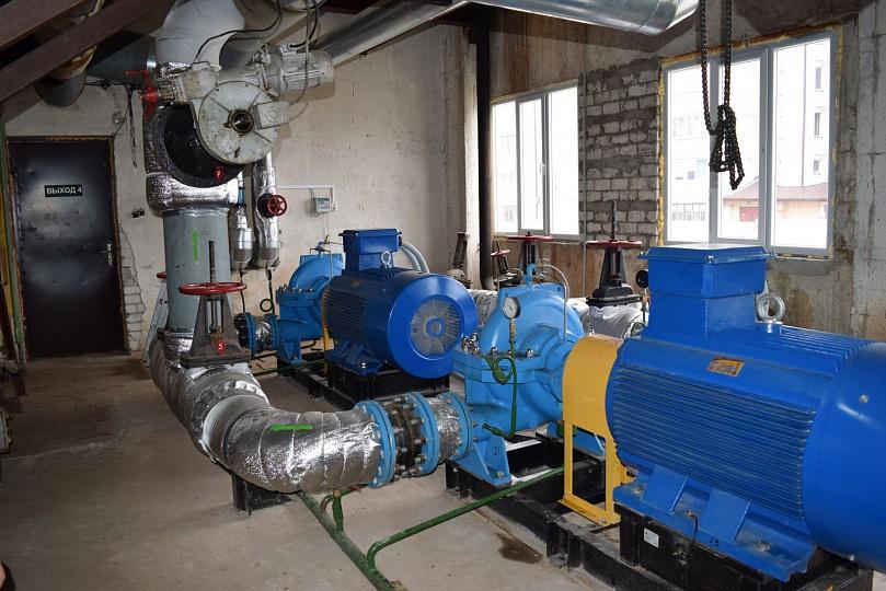 В Каспийске для бесперебойной подачи воды установлен дополнительный насос