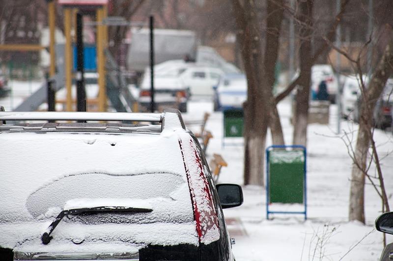 На побережье Каспия ожидаются снег и морозы