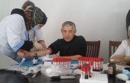 Жители Рутульского района сдают анализы крови на наличие антител к коронавирусу
