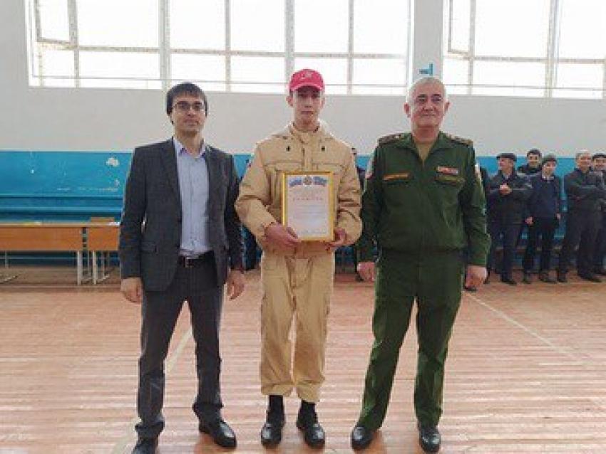 В Табасаранском районе прошла военно-спортивная игра «Зарница»