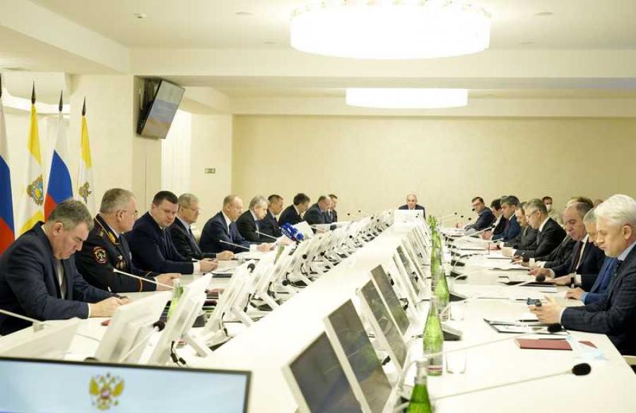 Сергей Меликов принял участие в совещании Совбеза РФ по вопросам нацбезопасности в СКФО