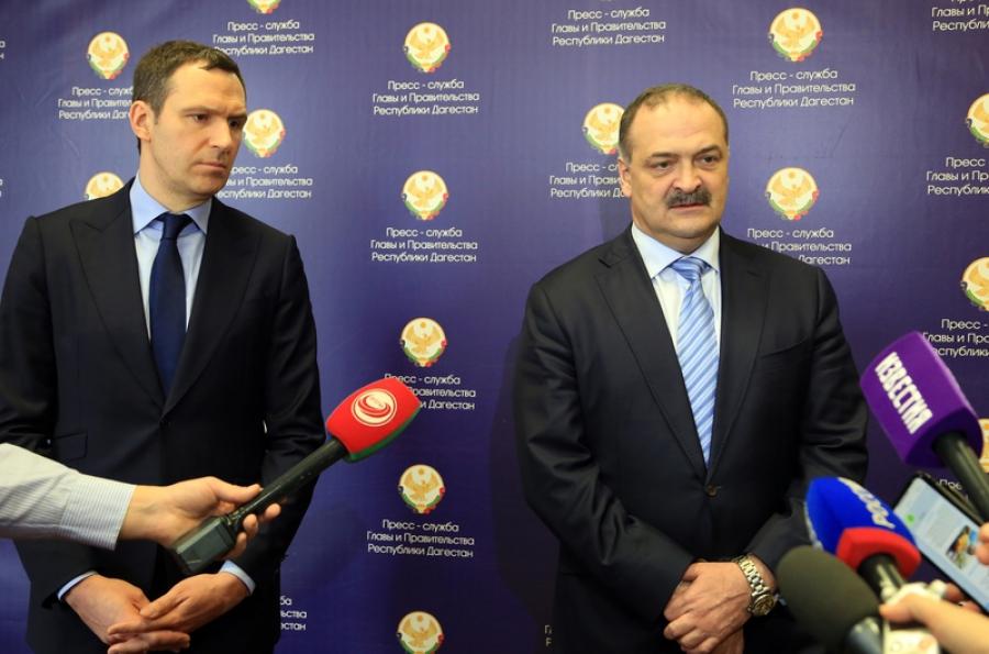 Правительство Дагестана и Российский экологический оператор подписали соглашение о сотрудничестве