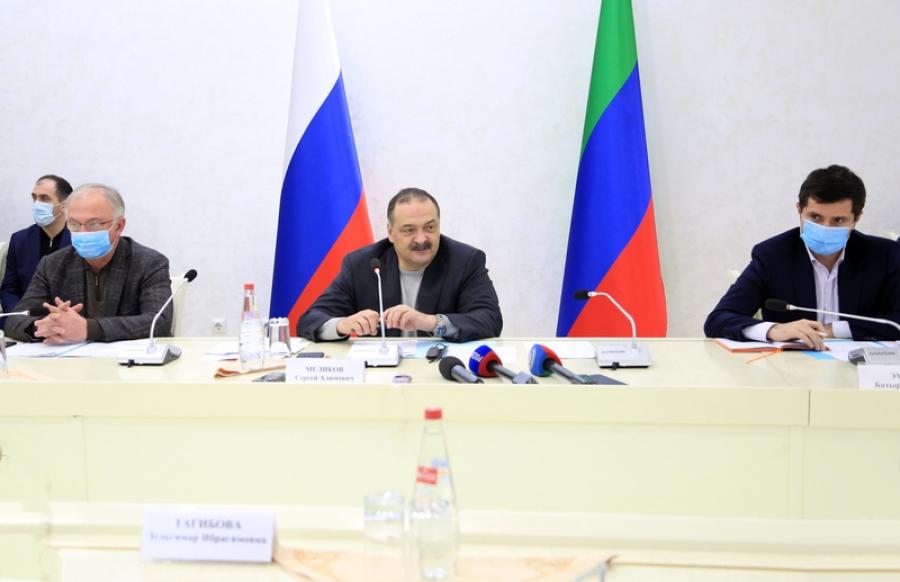Сергей Меликов встретился с представителями бизнес-сообщества республики