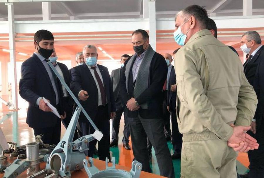 Сергей Меликов ознакомился с деятельностью Кизлярского электромеханического завода