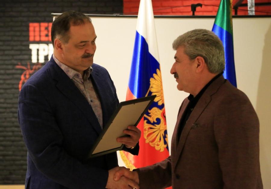 Сергей Меликов отметил благодарностями руководителей благотворительных организаций и меценатов