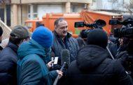 Сергей Меликов проинспектировал работу по ликвидации мусорных завалов в Махачкале