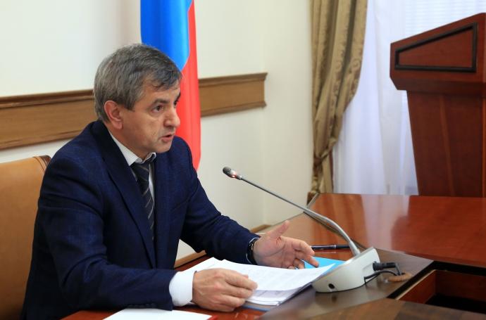 В правительстве Дагестана началась работа над стратегией социально-экономического развития республики