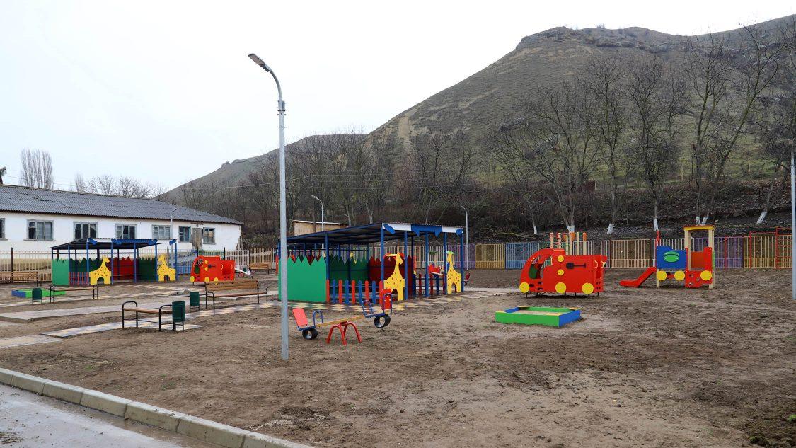 В Табасаранском районе построен новый детский сад