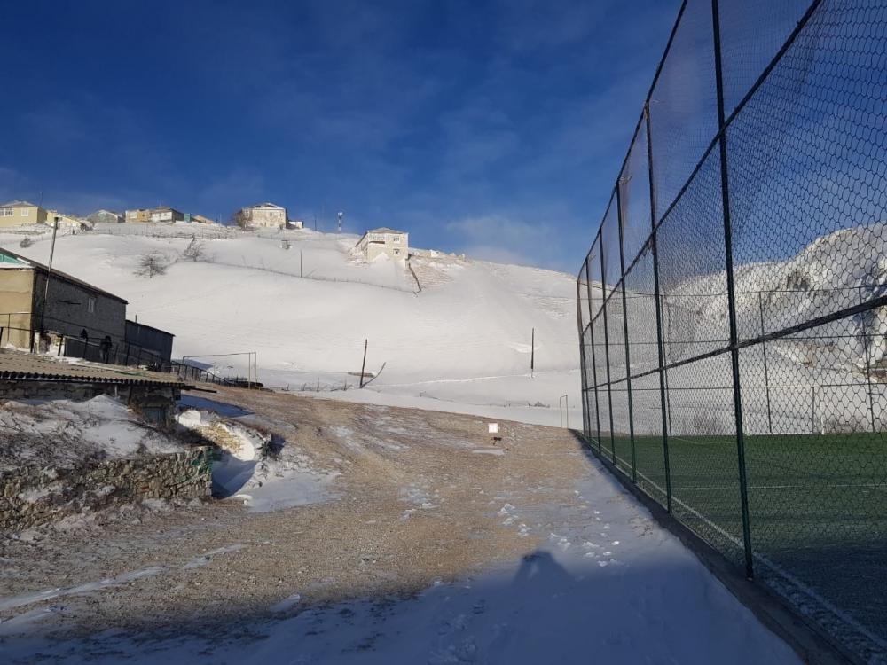 В Гумбетовском районе устраняются последствия снежной стихии