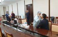 Руководство и сотрудники минстроя Дагестана проходят первый этап вакцинации от COVID-19