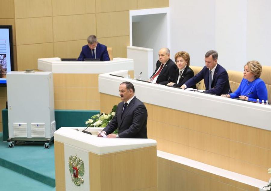 На 500-м заседании Совета Федерации ФС РФ прошел час Республики Дагестан