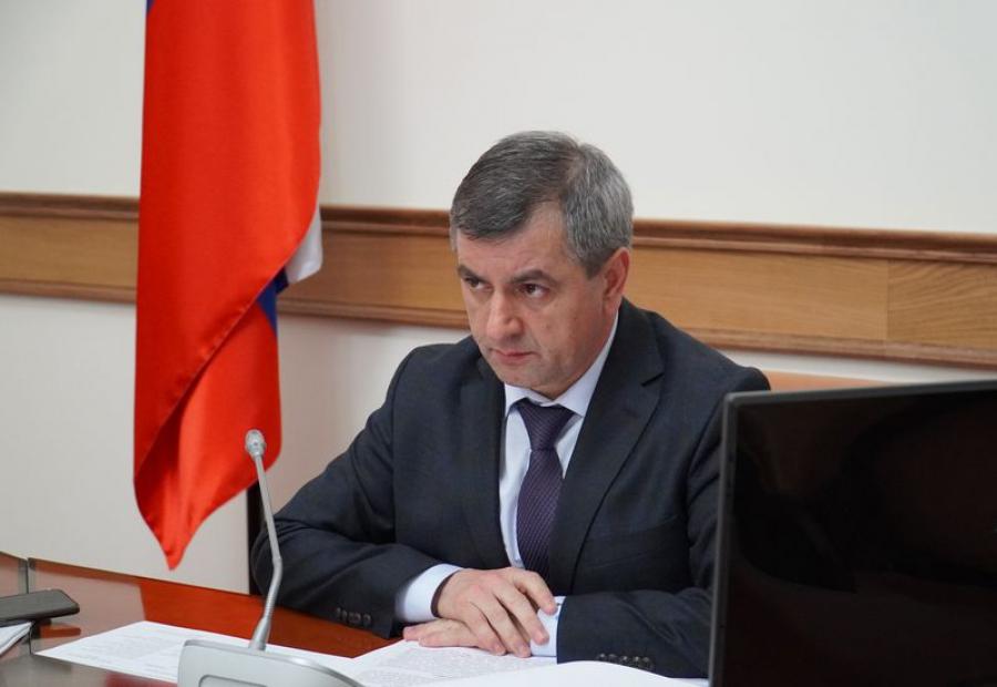 Нюсрет Омаров провел заседание президиума Совета при главе Дагестана по стратегическому развитию и проектной деятельности