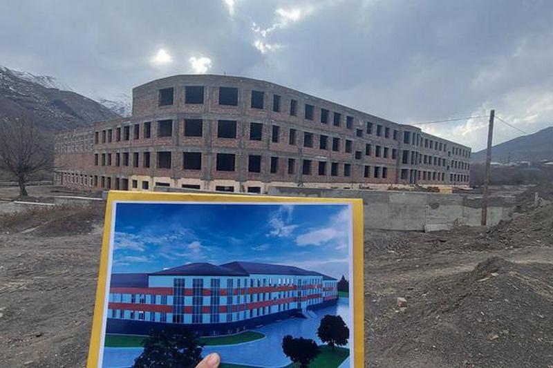 В Ахтынском районе построят новую школу