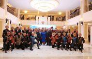 Сергей Меликов и Валентина Матвиенко посетили концерт «Лезгинки» в Совете Федерации