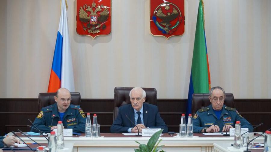 Комиссия МЧС России проверяет готовность Дагестана к паводкоопасному периоду и пожароопасному сезону