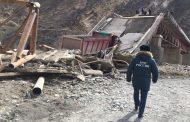 В Шамильском районе под груженым КамАЗом рухнул мост