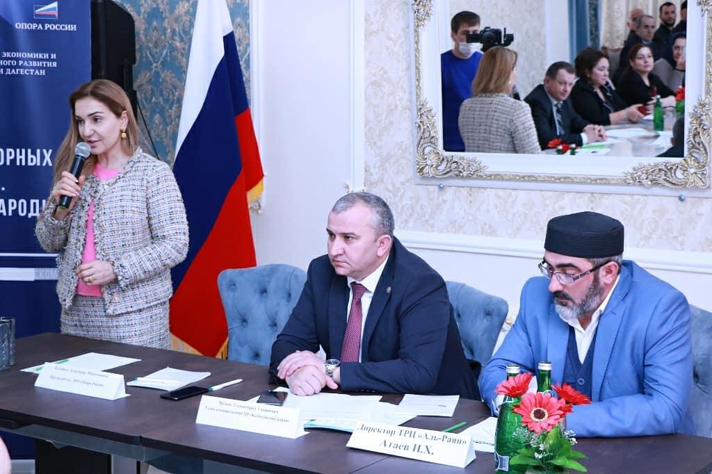 Руководство регионального отделения «Опоры России» встретилось с бизнесменами Казбековского района