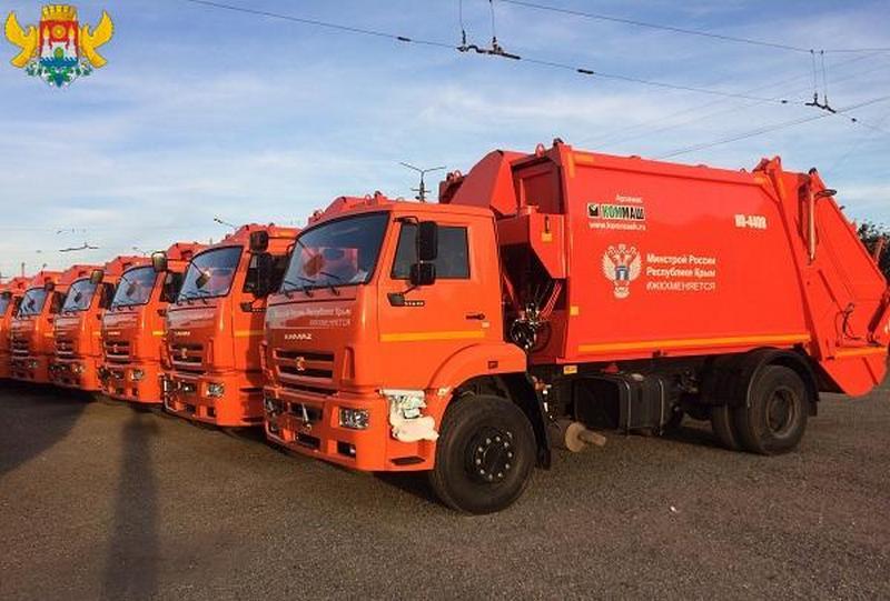 Дагестан получил 20 мусоровозов