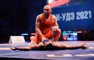 После первого дня ЧР по вольной борьбе у Дагестана два золота, серебро и три бронзы